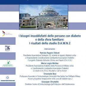 Studio D.A.W.N.2 sul diabete: il resoconto del workshop
