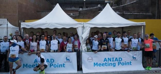 Maratona di Roma 2018: la corsa del DRI e di ANIAD verso la cura
