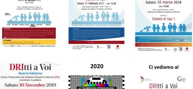 Quinta edizione del DRItti a Voi: rimandata al 2021